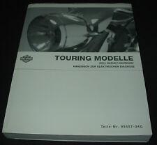 Werkstatthandbuch Harley Davidson Elektrische Diagnose Touring Modelle 2004