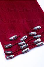 40, 45, 55, 60cm Clip In Set 7 Tressen Remy Echthaar Extensions Haarverlängerung