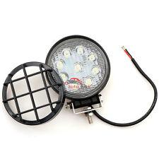 "1Pcs Black PVC Cover for 4""12V LED Tractor work light lamp Spot off road 4X4"