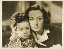 "JOAN CRAWFORD & RICHARD NICHOLS in ""A Woman's Face"" Original Vintage Photo 1941"