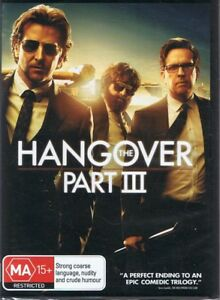 The HANGOVER PART III R4 DVD Comedy NEW & SEALED Free Post