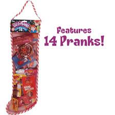 Soc-O-Pranks Filled Christmas Stocking Kit - 14 Classic Pranks