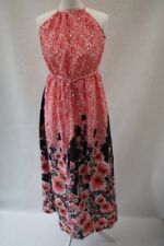 NEXT, PETITE, Ladies summer maxi dress with split up the side/front, size 8,