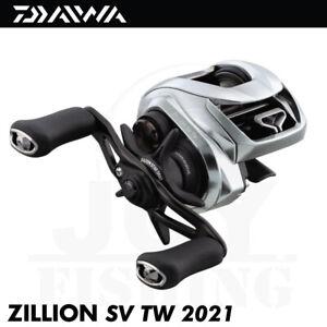 Daiwa Zillion SV TW G 2021 Baitcasting Fishing Reel - Left Handed [ZLNSVG100HL]