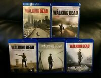 COFFRETS BLU-RAY  SERIE HORREUR ZOMBIES : THE WALKING DEAD : SAISONS 1 à 5