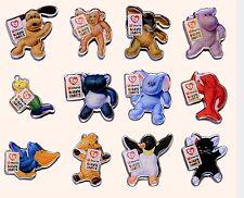 Full Set of 12, 1998 Mc Donald's Teenie Beanie Babie's Lapel/Pin Set - Mint NIP