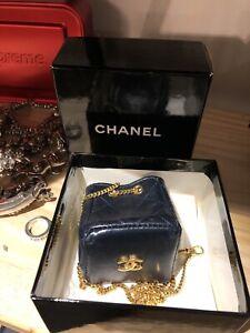 Authentic CHANEL mini bag black Comes with original Box!