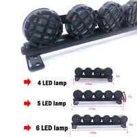 LED Spotlight Car Roof Lamp Bar for 1/10 TRAXXAS TRX4 90046 SCX10 RC Crawler Car