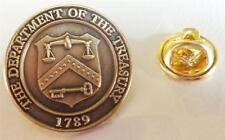 IRS Taxes Internal Revenue Services Hat Jacket Lapel Pin