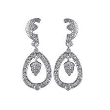 Inspired Cz Earrings Sterling Silver Royal Wedding