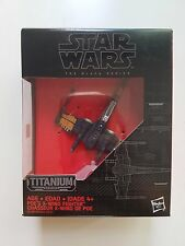 Disney Hasbro Star Wars The Black Series Poe's X-WING Fighter B4581/B3929