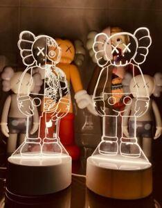Kaws Figure Bearbrick 3D Visual Lamp
