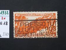 1932 REGNO MARCIA SU ROMA ESPRESSO LIRE 2,50