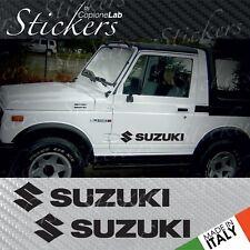 Set adesivi Suzuki Santana Samurai Vitara fianco sportello logo