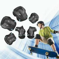 Protective Gear Roller Skating Skateboard Knee Elbow Wrist Guard Pads 6pcs/Set