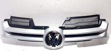 VW GOLF MK5 2004-2008 FRONT GRILLE MAIN CENTRE SILVER  NEW PAINT CODE LA7W