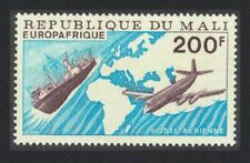 Mali Airplane Ship Europafrique MNH SG#554 SC#C289