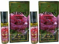Nebras By 6ml by Al Rehab  Citrus Jasmine Sandalwood Perfume Oil (2 Pack)