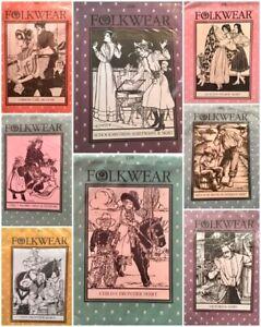 Walking Skirt, Vintage Vest, Frock Coat, Edwardian Underthings Folkwear Patterns