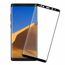 Black Full Curved 3D Tempered Glass Screen Protector for Samsung Galaxy Note 8