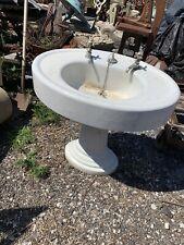 New ListingAntique Standard Sink Bath Room White Vintage Fluted