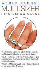 2500 x UK Ring Finger Sizer Gauge A-Z Multisizer Wholesale Joblot