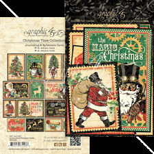 Graphic 45 Christmas Time Ephemera and Journaling Cards 4502123