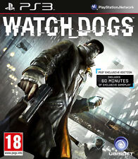 Watch Dogs PS3 (in Great Condition)
