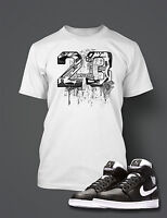 23 T shirt Get on My Level  To Match Retro AIR JORDAN 1 Shoe Graphic Tee Shirt