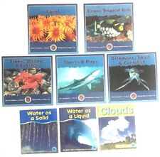 Children's Red Brick Learning and Marine Life For Young Readers 8 Book Lot