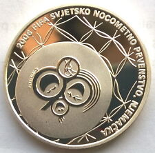 Croatia 2006 European Cup 150 Kuna Silver Coin,Proof