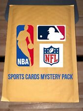 MLB, NBA, NFL Mystery Packs!!! *READ* 15 CARDS, RELICS AUTOS AND MORE!!! CHASER
