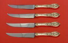 Richelieu by International Sterling Silver Steak Knife Set 4pc HHWS  Custom Made