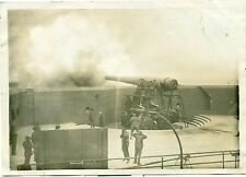 vintage photo rare & historic pre 1910 explosion ft monroe va. of gun # 1