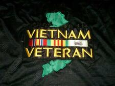 Vietnam Veteran 1960 USA Flag Military Some Gave All Black Jersey Men's XL used