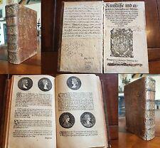 1558 Strada - 721 Holzschnitte von Röm. + Deutschen Kaiser Könige Fürsten Päpste