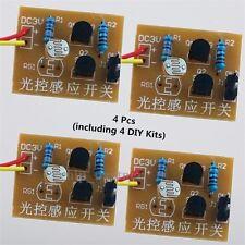 4Pcs DIY Kit Light-Control Sensor Switch Suite For DIY Electronic Trainning