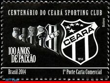 14-12 BRAZIL 2014 CENTENARY CEARA, FOOTBALL/SOCCER , FAMOUS CLUBS, SPORTS, MNH