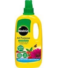 Miracle Gro Multiuso Concentrado Líquido Fertilizante 1 Litro Flor Vegetal