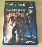 Fantastic Four - Playstation 2 / PS2 Game - Boxed With Manual