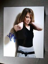 Hilary Duff Photo Autograph Autogramm 8x10i 20x25cm