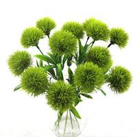 1pc Home Artificial Flower Real Touch Dandelion Fake Plants Plastic Flower Decor