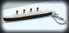 RMS Titanic Keychain Keyring Model Ship Charm Key Fob (White Star Line )