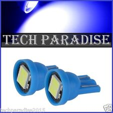 1x Ampoule T10 / W5W / W3W LED 2 SMD 5630 Bleu Blue veilleuse lampe light