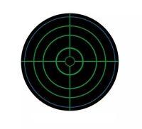 3 inch Self-adhesive Bullseye Reactive Shooting Targets (250 targets / roll)