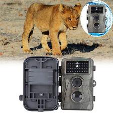 Caméra de Chasse imperméable Pour Observation Animaux Traque HD 12MP 720P