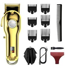 Upgraded Hair Clippers Professional Kit For Men W/LED Display USB