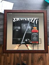 Jack Daniels Tennessee Whiskey Mirror With Wood 20 X 20