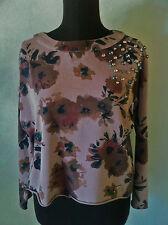 Gaudì Maglia-Felpa cotone donna long sleeve tg.L 42-44 nuovo senza etichetta