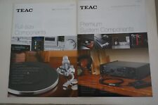 LOT OF 2 NEW JAPAN BROCHURE TEAC AD-RW950-S AND MORE CATALOG